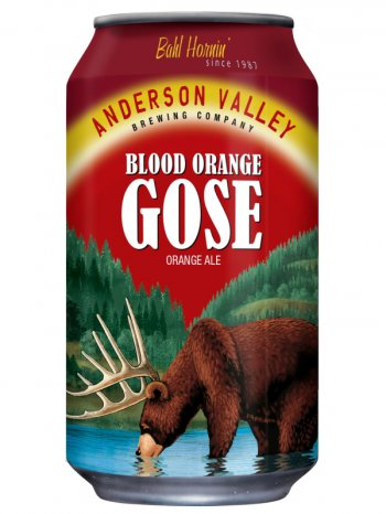 Андерсон Валей Блад Орандж Гозе/ Anderson Valley Blood Orange Gose 0,355л. алк.4,2%