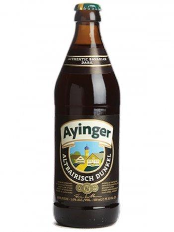 Айингер Альтбайриш Дункель нефильтр. / Ayinger Altbairisch Dunkel Unfiltriert 0,5л. алк. 5%