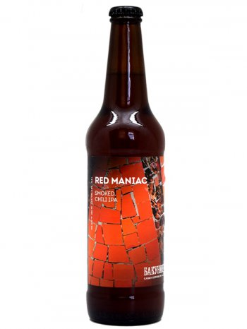 Бакунин Копченый ИПА Ред Маньяк / Bakunin Red Maniac 0,5л. алк.6,8%