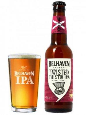 Белхеван Твистед Систл ИПА / Belhaven Twisted Thistle IPA  0,33л. алк.5,6%