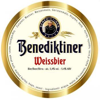 Бенедиктинер Вайсбир / Benediktiner Weissebier, keg. алк.5,4%