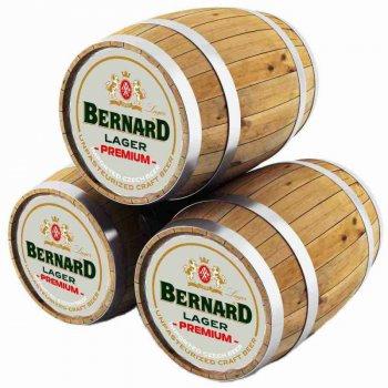 Бернард Премиум Лагер/ BERNARD PREMIUM LAGER, keg. алк.4,9%