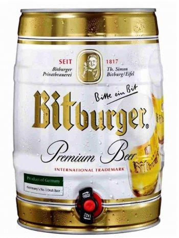 Битбургер / Bitburger 5л. алк.4,8% ж/б.