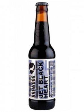 Брюдог Джет Блэк Харт / BrewDog Jet Black Heart 0,33л. алк.4,7%