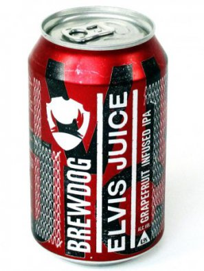 Брюдог Элвис Джус / BrewDog Elvis Juice 0,33л. алк.6,5% ж/б.