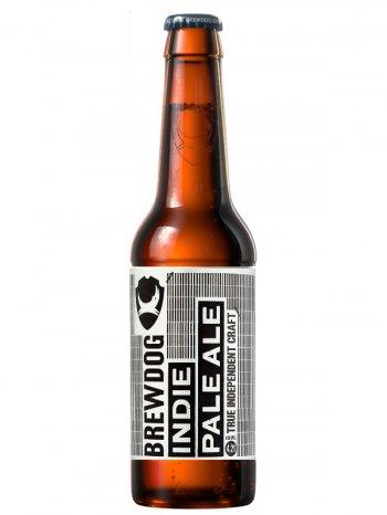 Брюдог Инди / BrewDog Indie Pale Ale 0,33л. алк.4,2%