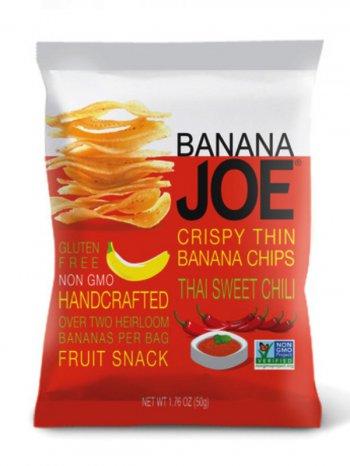 Чипсы Банан Джо со вкусом сл.перца чили / Banana Joe Thai Sweet Chili 50гр.