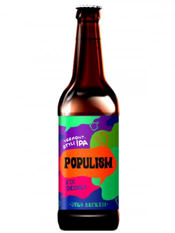 Джоус Популизм (Вик Секрет) / Jaws Populism Vic Secret 0,5л. алк.6%
