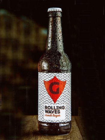 ГУСИ Чешский Лагер / GUSI Rolling Waves 0,5л. алк.4,7%