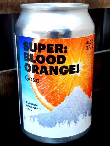 Хаусман Госе Пинч оф Салт / HAUSMANN Super Blood Orange Gjse 0,33л. алк.5% ж/б.