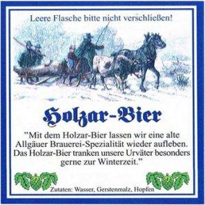 Хиршбрауерай Холцар Бир (Пиво дровосека) / Hirschbrau Holzar Bier , keg. алк.5,2%
