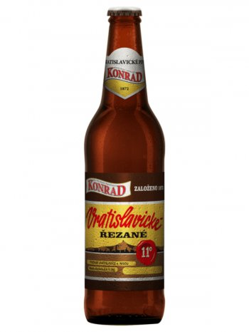 КОНРАД 11 Резаное / Konrad 11 Vratislavicke REZANE 0,5л. алк.4,6%
