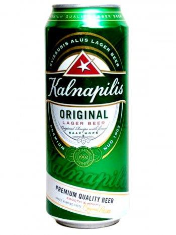 Калнапилис Ориджинал / Kalnapilis Original 0,568л. алк.5% ж/б.