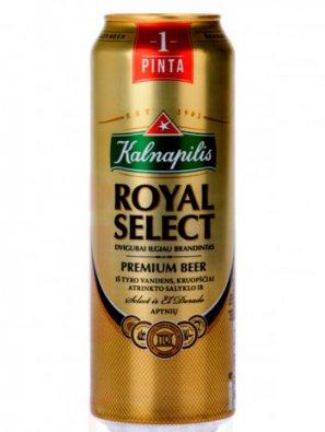 Калнапилис Роял Селект / Kalnapilis Royal Select 0,568л. алк.5,6%
