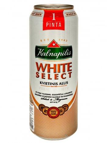 Калнапилис Вайт Селект / Kalnapilis White Select 0,568л. алк.5% ж/б.