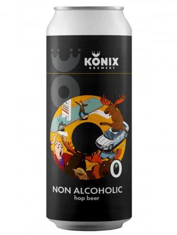 Коникс Лось, Просто Лось б/а / Konix Moose, Just Moose 0,5л. ж/б.