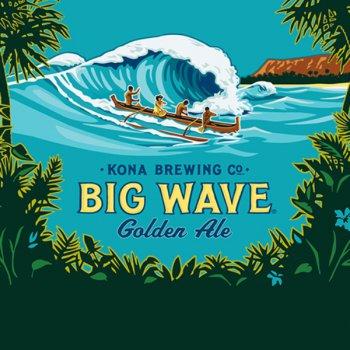 Конна Биг Вейв Голден Эль / Kona Big Wave Golden Ale, keg. алк.4,4%