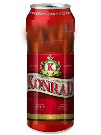 Конрад / Konrad 0,5л. алк.5,2% ж/б.