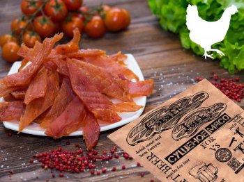 Крафт Бир Сушеное мясо Курица с горчицей,40гр.