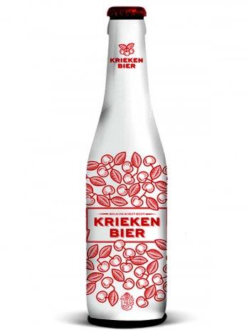 Крикенбир Белджен Вит Бир /  KRIEKENBIER BELGIAN WHEAT BEER 0,25л. алк.4%