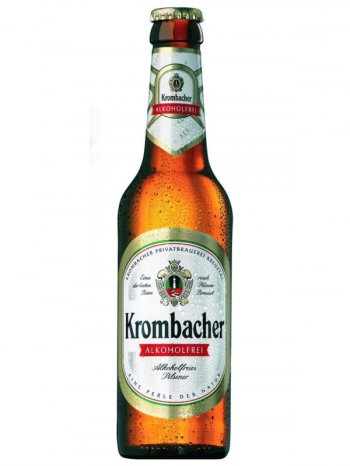 Кромбахер Пилс б/алк. / Krombacher Pils Alkoholfrei 0,33л.
