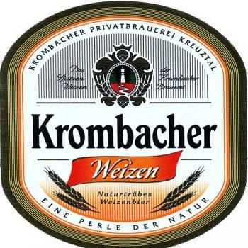 Кромбахер Вайцен /  Krombacher Weizen, keg. алк.5,3%