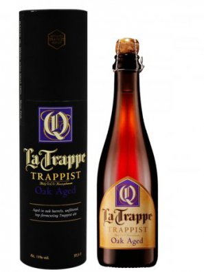 Ла Траппе Квадрупель Оак Эйджд / La Trappe Quadrupel Oak Aged (в тубе) 0,375л. алк. 11%