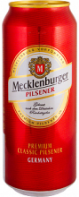 Пиво Мекленбургер светлое ж/б