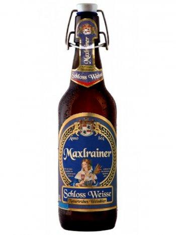 Макслрайнер Шлосс Вайс /Maxlrainer Schloss Weisse 0,5л. алк.5%