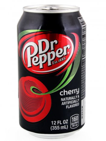 Напиток Доктор Пеппер Черри/ Dr.Ptpper Cherry 0,33л.ж/б.