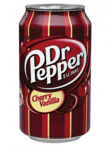 Напиток Доктор Пеппер Черри Ванилла / Dr. Pepper Cherry Vanilla 0,355л. ж/б.