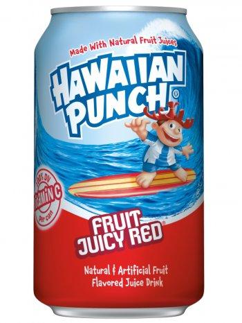 Напиток Гавайниан Панч со вк.сочных фруктов / Hawaiian Punch 0,355л. ж/б.