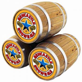 Ньюкасл / Newcastle Brown Ale, keg. алк.4,7%