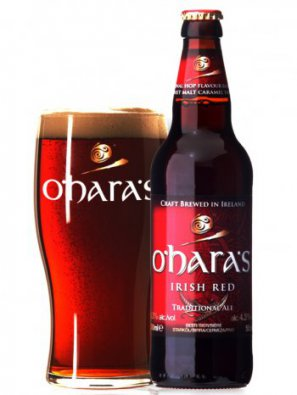 О`Хара Айриш Ред эль / O`Hara`s Irish Red 0,5л. алк.4,3%