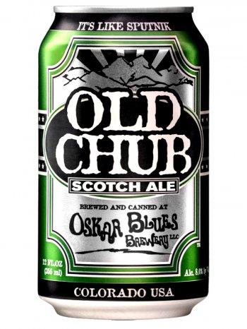 Оскар Блюз Олд Чаб Скотч Эль / Oskar Blues Old Chub 0,355л. алк.8% ж/б.