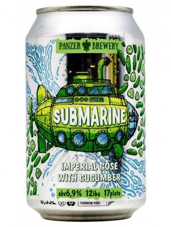 ПАНЗЕР Субмарина / Panzer Submarine With Cucumber 0,33л. алк.6,9% ж/б.