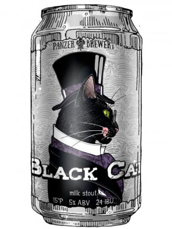 Панзер Блэк Кэт / Panzer  Black Cat 0,5л. алк.5% ж/б.