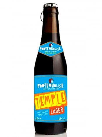 Портерхаус Тэмпл Лагер / Porterhouse Temple Lager 0,33л. алк.4,2%