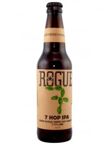 Роуг 7 Хоп ИПА  / Rogue 7 Hop IPA 0,355л. алк.7,77%