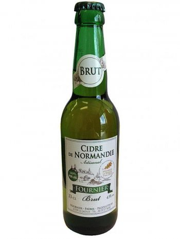 Сидр Фурнье / Cidre Fournier Brut 0,33л. алк.4,5%