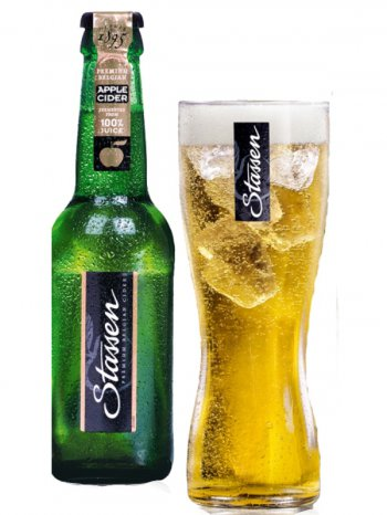 Сидр Стассен Сидр Эпл / Stassen Cider Apple 0,33л. алк.5,4%