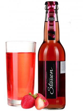 Сидр Стассен Сидр Розе / Stassen Cider Rose 0,33л. алк.4,5%