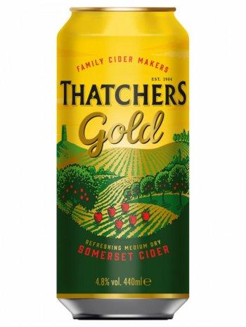 Сидр Тэтчерс Голд / Thatchers Gold п/сух. 0,5л. алк.4,8% ж/б.