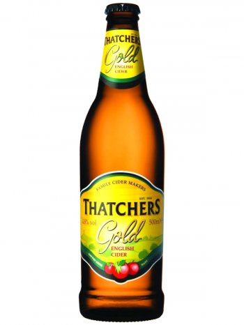 Сидр Тэтчерс Голд / Thatchers Gold 0,5л. алк.4,8%