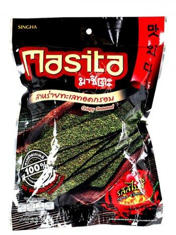 Снеки МАЧИТА из Морских Водорослей с острым вкусом / Machita Spicy Flavour 36гр.