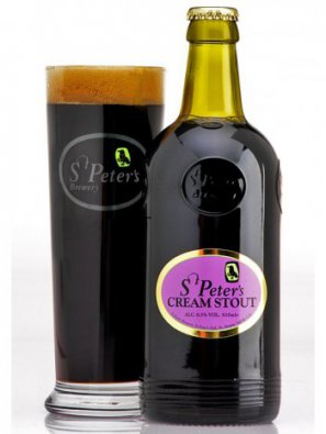 Ст.Петерс Крим Стаут / St. Peter's Cream Stout 0,5л. алк.6,5%