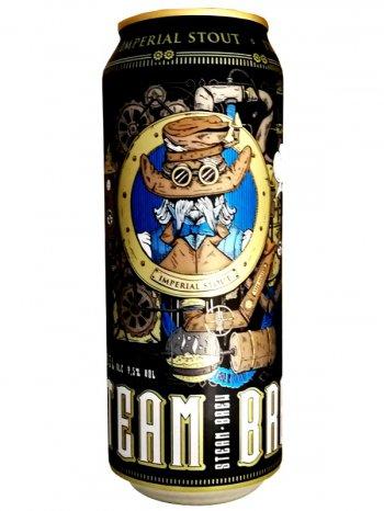 Стим Брю Империал Стаут / Steam Brew Imperial Stout 0,5л. алк.7,5% ж/б.