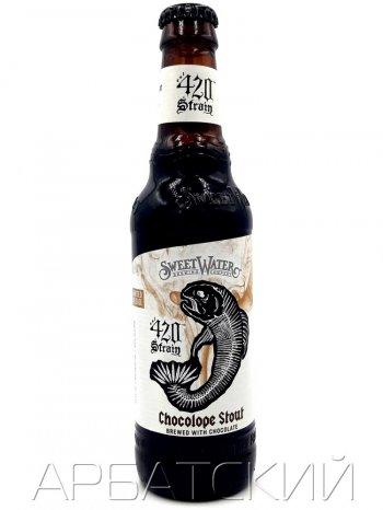 СвитВотер 420 Стрэин Чоколоуп Стаут/ Sweet Water 420 Strain Chocolope Stout 0,355л. алк.6,4%