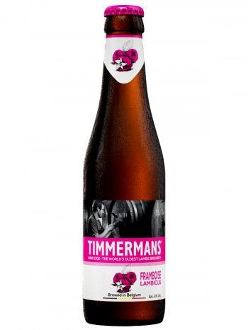 ТИММЕРМАНС ФРАМБУАЗ ЛАМБИКУС / Timmermans Framboise Lambicus 0,33л. алк.4%