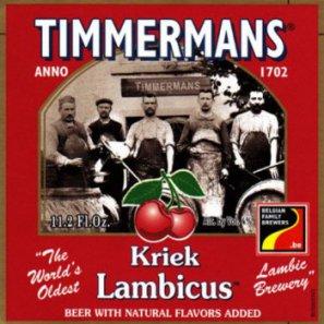 ТИММЕРМАНС КРИК ЛАМБИКУС / Timmermans Kriek Lambicus, keg. алк.4%